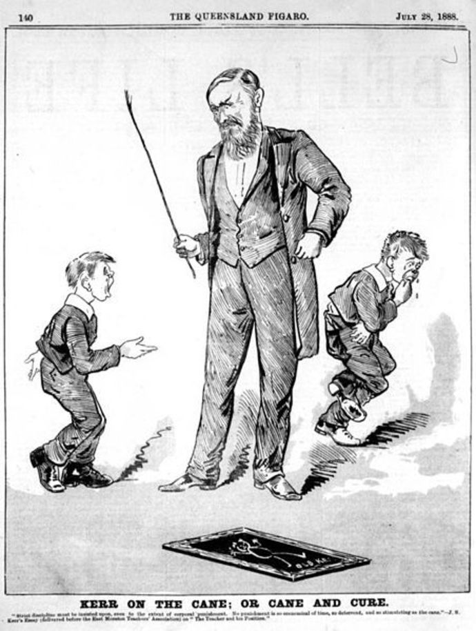 caning, corporal punishment