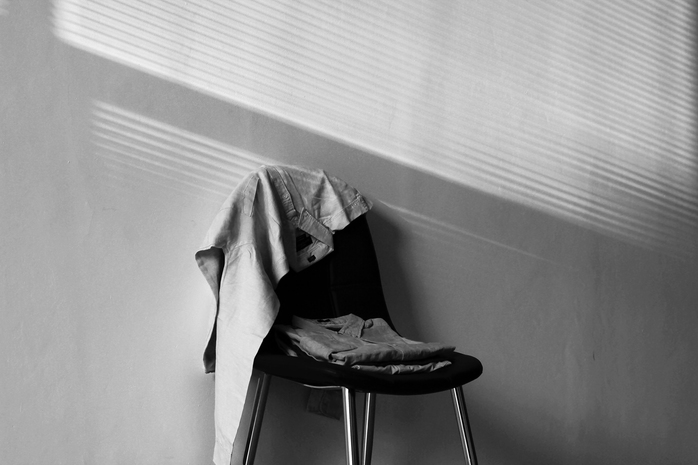 Clothes on chair