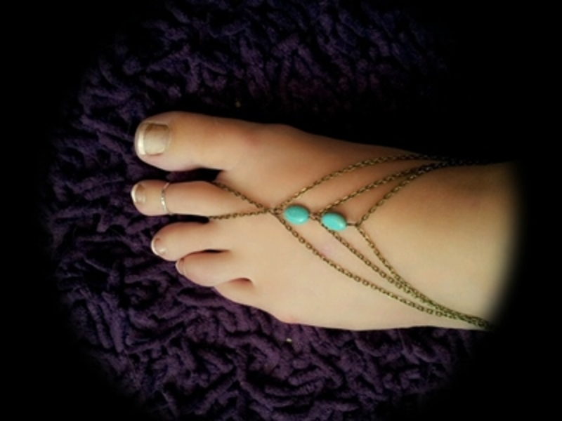 have,you,ever,worn,a,bracelet,on,your,ankle  - Have you ever worn a bracelet on your ankle?