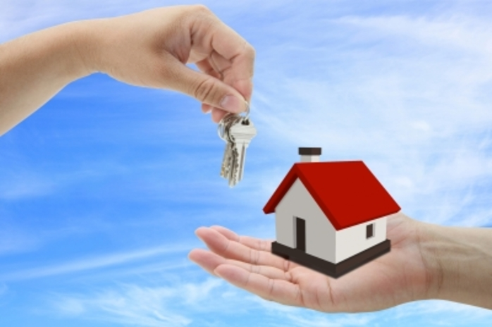 House purchase keys sale selling buying hands property