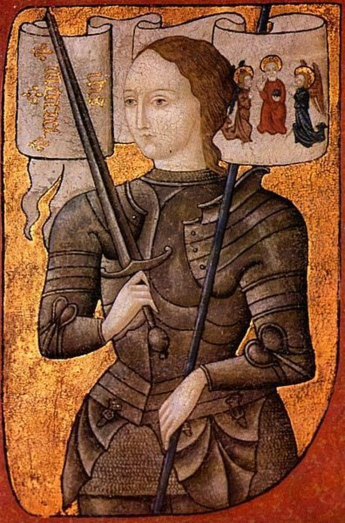 joan of arc, courageous woman