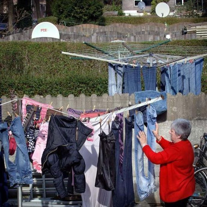 laundry, clothesline, drying line