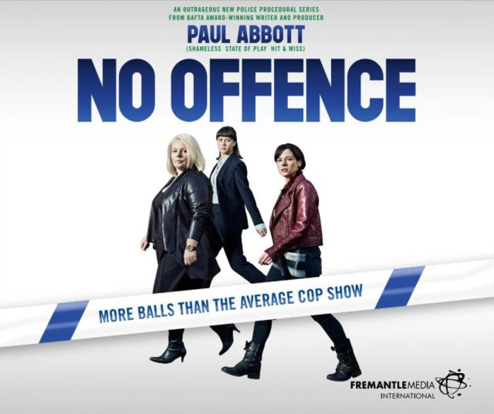 no offence, cop show