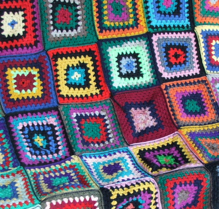 One of my homemade rugs - author's photo