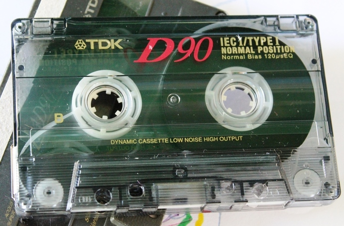 recycle old tapes