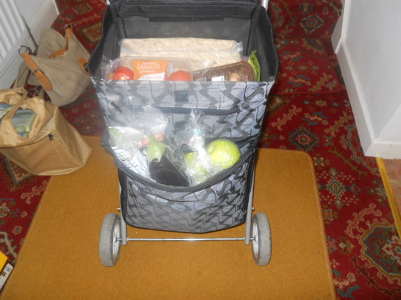shopping trolley, groceries  - Do you use a shopping trolley?