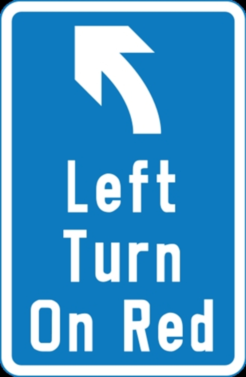 turn left  - Should the Government introduce turning left on a red signal?