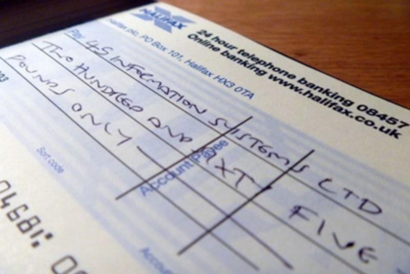when,did,you,last,use,a,cheque,book  - When did you last write a cheque?